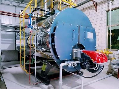 湖北力聚电池抓专用热水锅炉